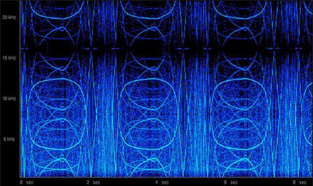Tune in Tokyo spectrogram 1